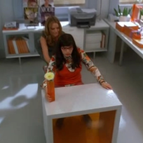 Betty at Her New Desk