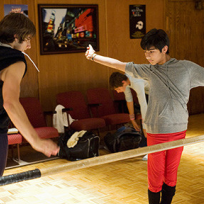 Justin's Dance Off