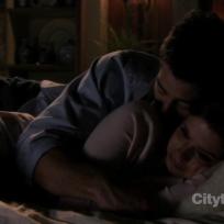 Will Embraces Megan