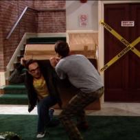 Sheldon and Leonard Deliver