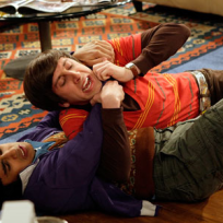 Raj and Wolowitz Fight