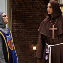 Leonard and Sheldon in Garb