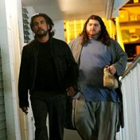 Sayid and Hurley