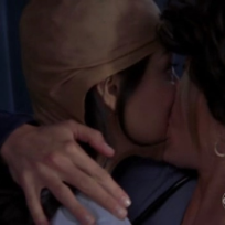 Denise and Sunny Kiss