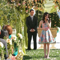 Rose Sings as the Wedding