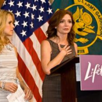 Sally Pressman and Brigid Brannagh