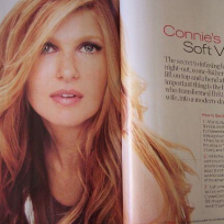 Connie Britton in InStyle