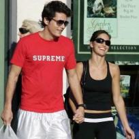 Minka Kelly and John Mayer