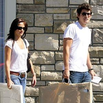 Minka Kelly with John Mayer