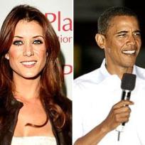 Kate Walsh, Barack Obama