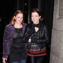 Kate Walsh and a Friend