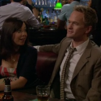 Barney Scares off Lily