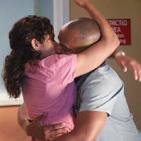 Carla and Turk in the On Call Room
