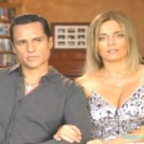 Maurice Benard and Wife