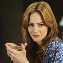 Kat Enjoys a Martini