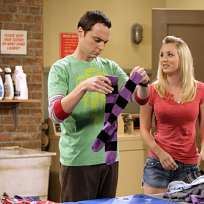 Sheldon and Penny