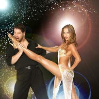 Edyta Sliwinska and Jeffrey Ross