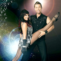 Lacey Schwimmer and Lance Bass