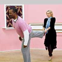 David Alan Grier and Kym Johnson Pic