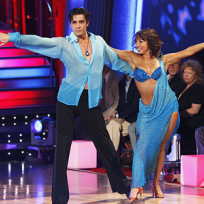 Cheryl Burke and Gilles Marini Photo