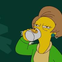 Mrs Krabappel Drunk