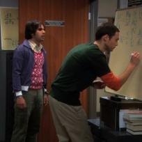 Raj Works for Sheldon