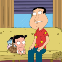 Glen Quagmire and Baby
