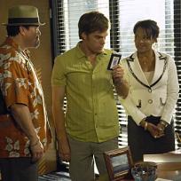 Angel, Dexter and Laguerta