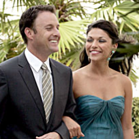 DeAnna Pappas and Chris Harrison