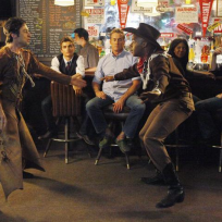 Turk and J.D. Dance