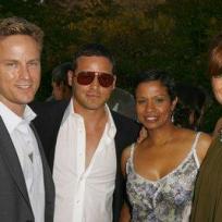 Justin and Keisha Chambers, Kate Walsh, Alex Young