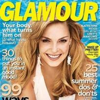 Katherine Heigl: Glamour Cover