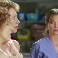 Meredith Looks On