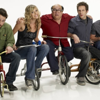 Its always sunny cast on tricycles