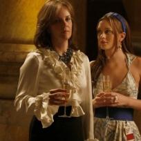 Eleanor and Blair Waldorf