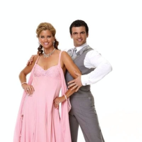 Tony Dovolani and Kathy Ireland