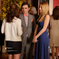 Blair, Chuck and Serena