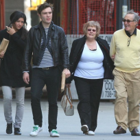 Ed Westwick, Parents and Girlfriend
