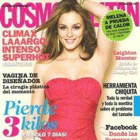Leighton Meester: Cosmopolitan Mexico