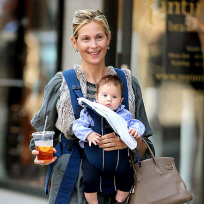 Kelly Rutherford with Helena