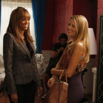 Tyra and Serena