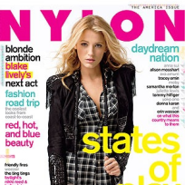 Blake Lively in Nylon