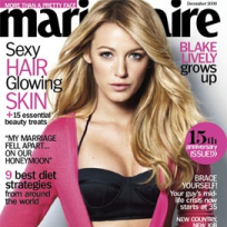 Blake Lively Marie Claire Cover