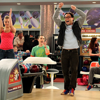 Penny and Leonard Bowling