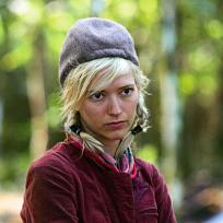 Courtney Yates Looks Skeptical