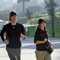 Brent and Caite Run