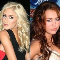 Heidi Montag, Miley Cyrus