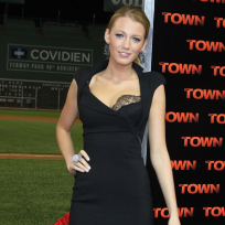 Blake lively at the town premiere