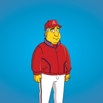 Mike-scioscia-on-the-simpsons