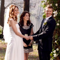 Chad Michael Murray and Hilarie Burton
